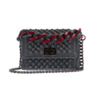 Ddora Leto handbag grey front