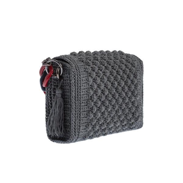 Ddora Leto handbag grey back