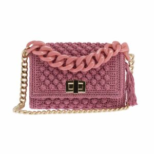 Ddora Leto handbag pink nude front