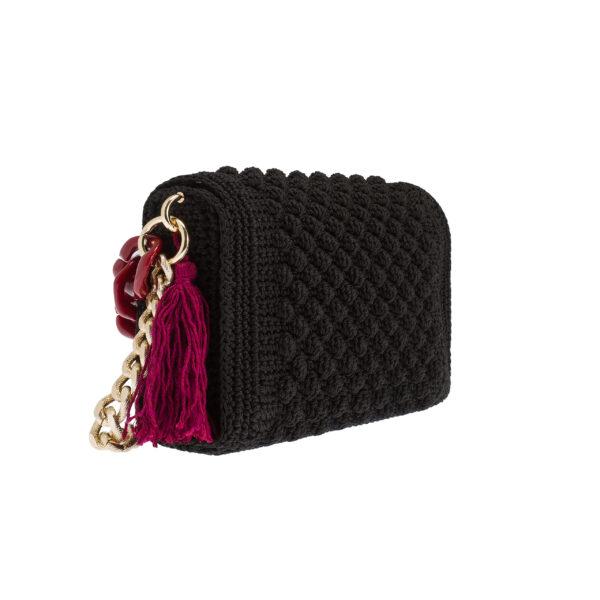 Ddora Leto handbag black back