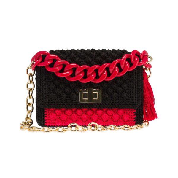 Ddora Harmony handbag black-red front