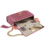 Ddora Leto handbag pink nude open